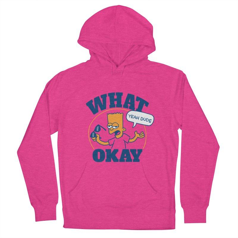 What Okay Men's Pullover Hoody by jublin's Artist Shop