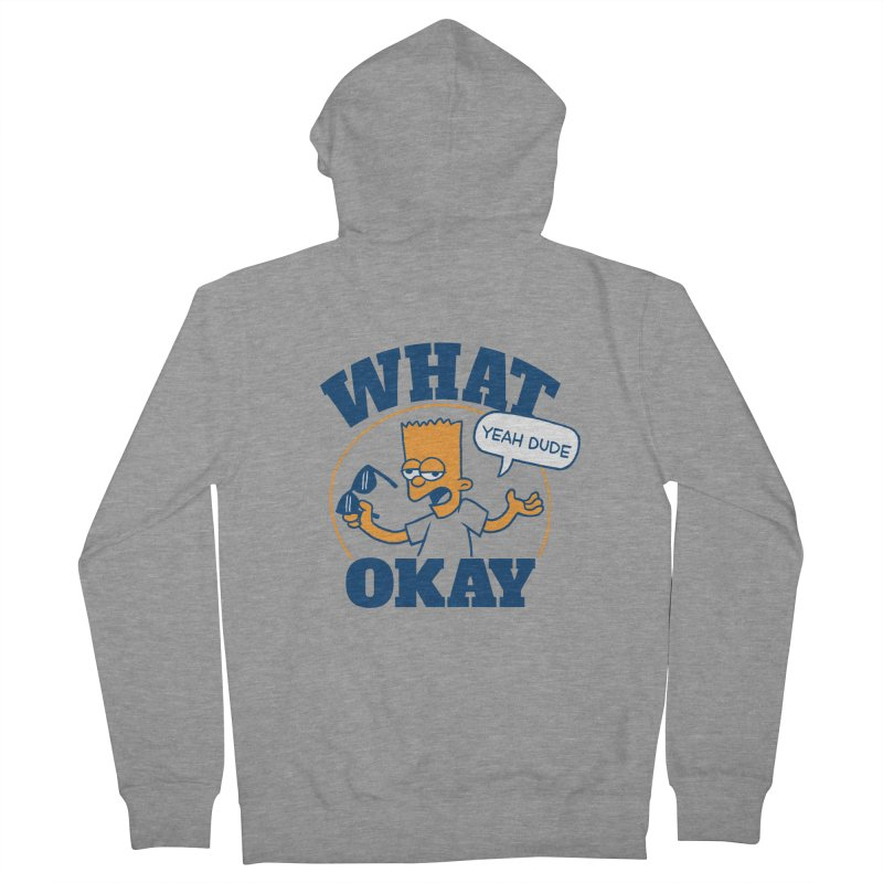 What Okay Women's Zip-Up Hoody by jublin's Artist Shop