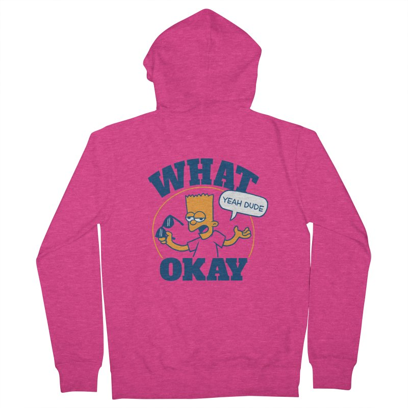What Okay Women's Zip-Up Hoody by jublin's Artist Shop
