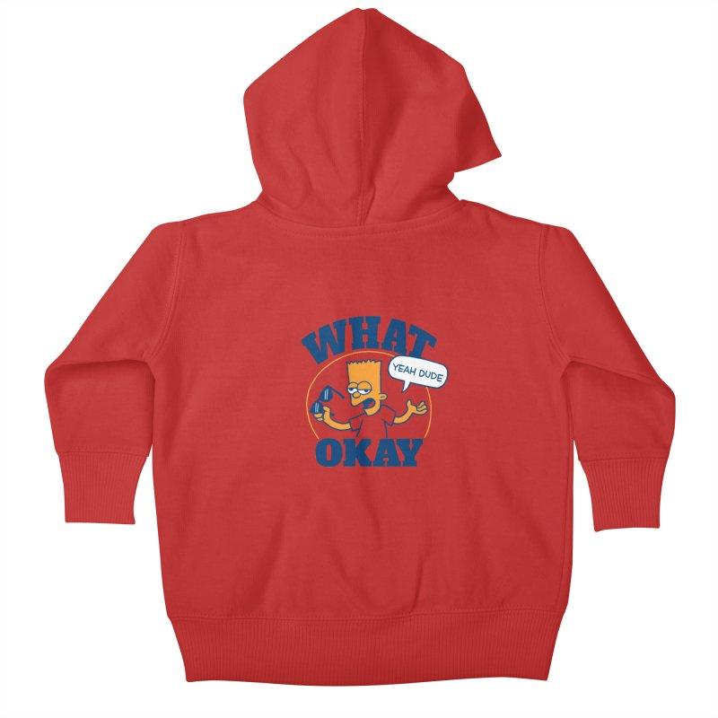 What Okay Kids Baby Zip-Up Hoody by jublin's Artist Shop