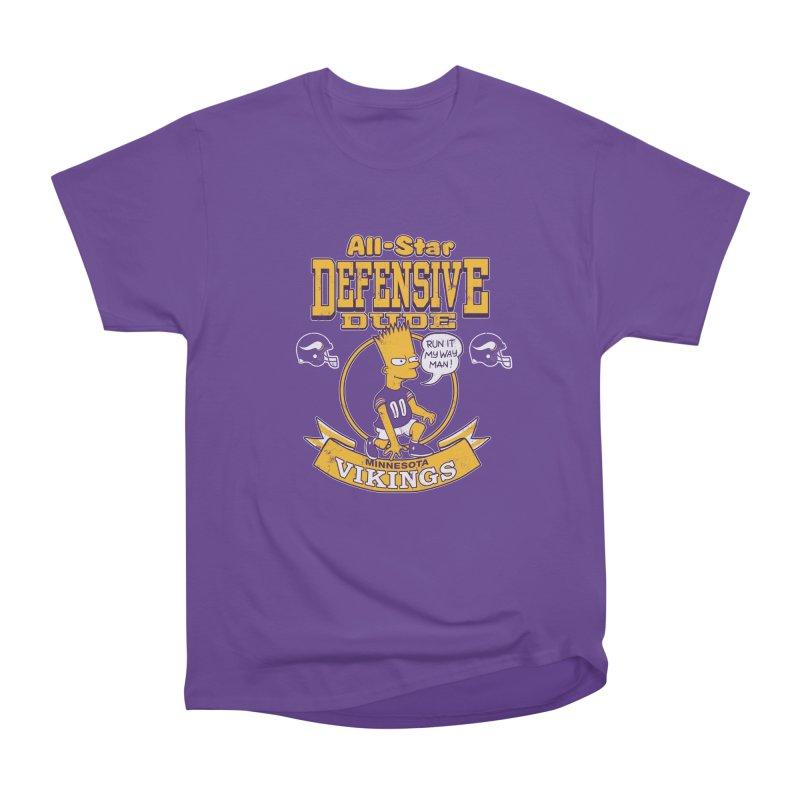 Minnesota Defensive Dude Men's Heavyweight T-Shirt by jublin's Artist Shop