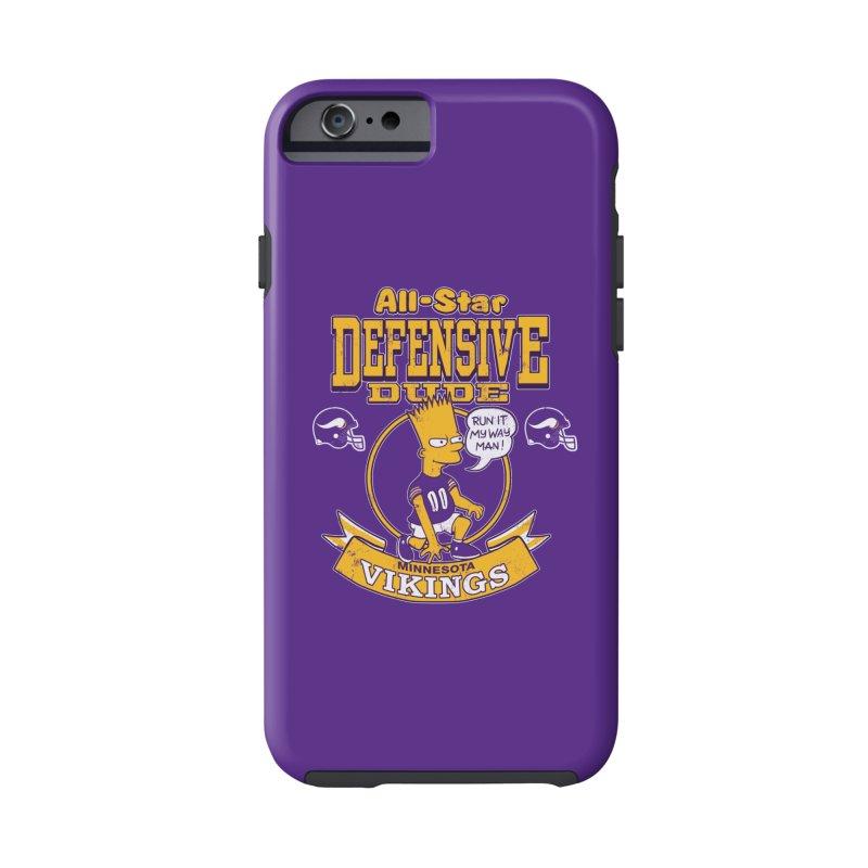 Minnesota Defensive Dude Accessories Phone Case by jublin's Artist Shop