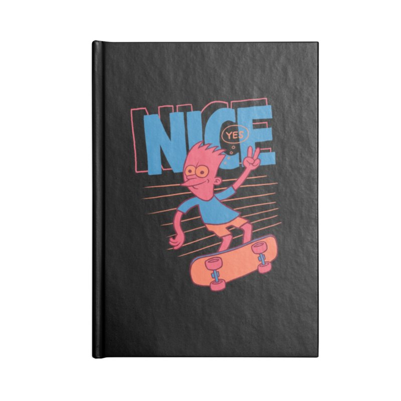 Nice Accessories Notebook by jublin's Artist Shop