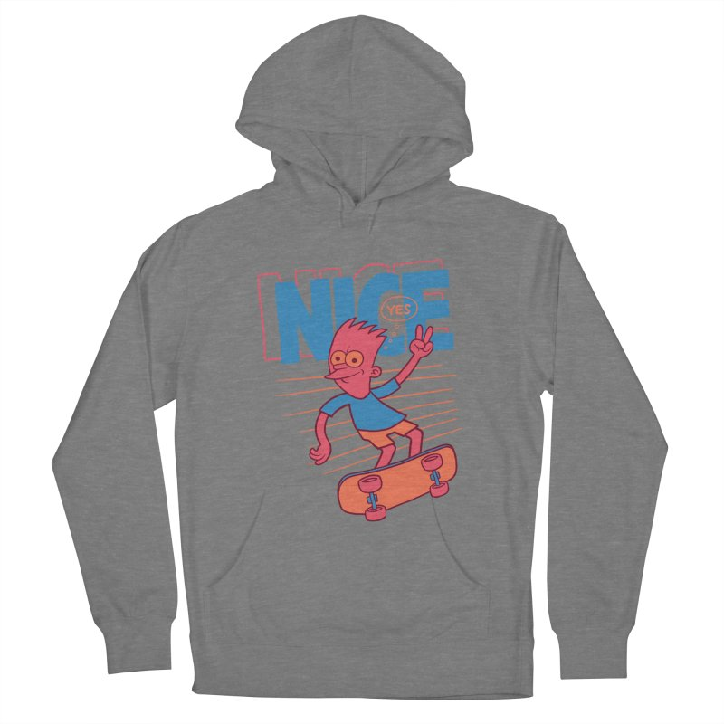 Nice Men's French Terry Pullover Hoody by jublin's Artist Shop