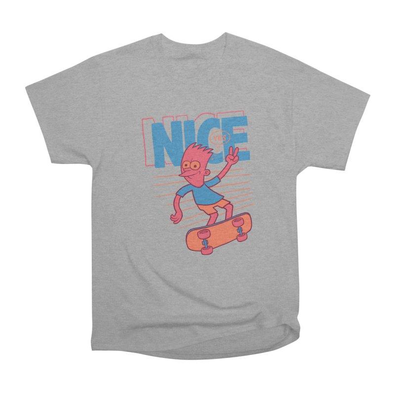 Nice Women's Heavyweight Unisex T-Shirt by jublin's Artist Shop