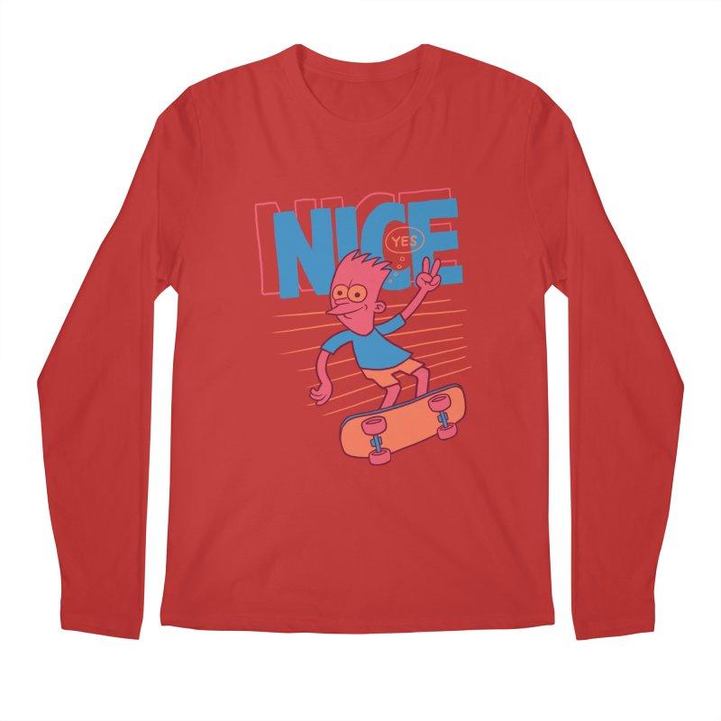 Nice Men's Regular Longsleeve T-Shirt by jublin's Artist Shop
