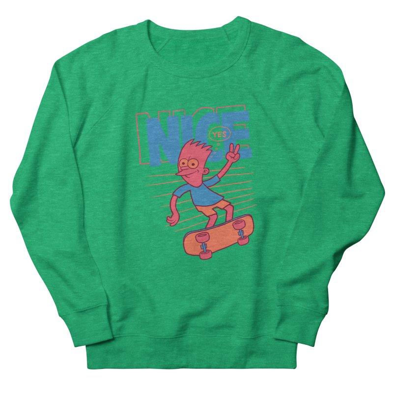 Nice Men's French Terry Sweatshirt by jublin's Artist Shop