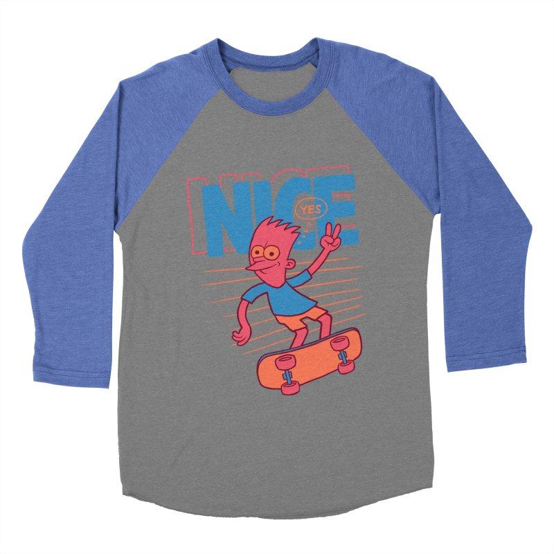Nice Women's Baseball Triblend T-Shirt by jublin's Artist Shop