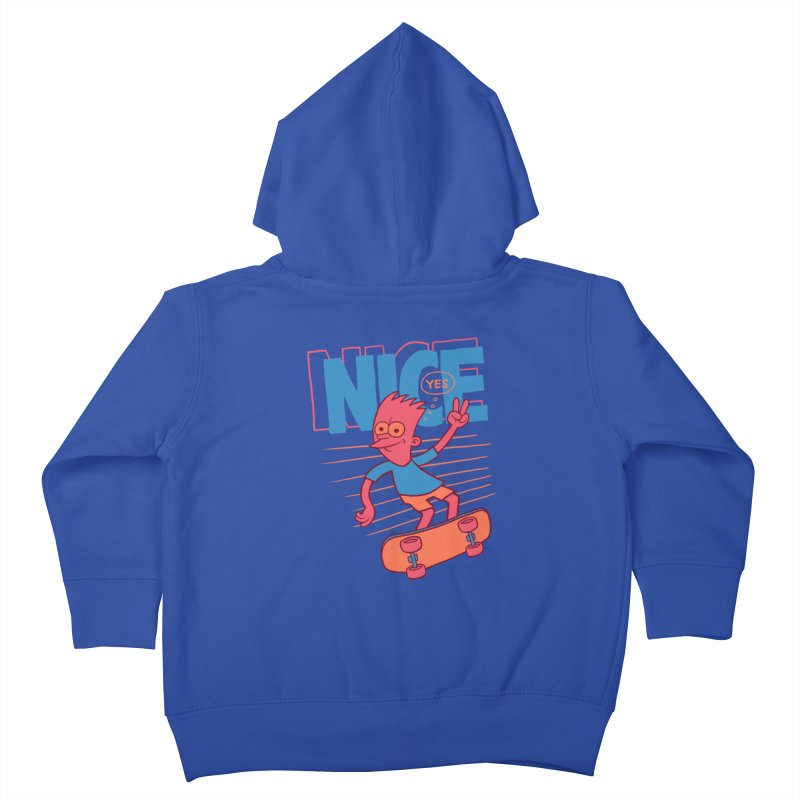 Nice Kids Toddler Zip-Up Hoody by jublin's Artist Shop