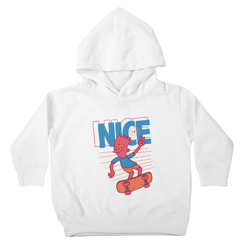 Nice Kids Toddler Pullover Hoody by jublin's Artist Shop