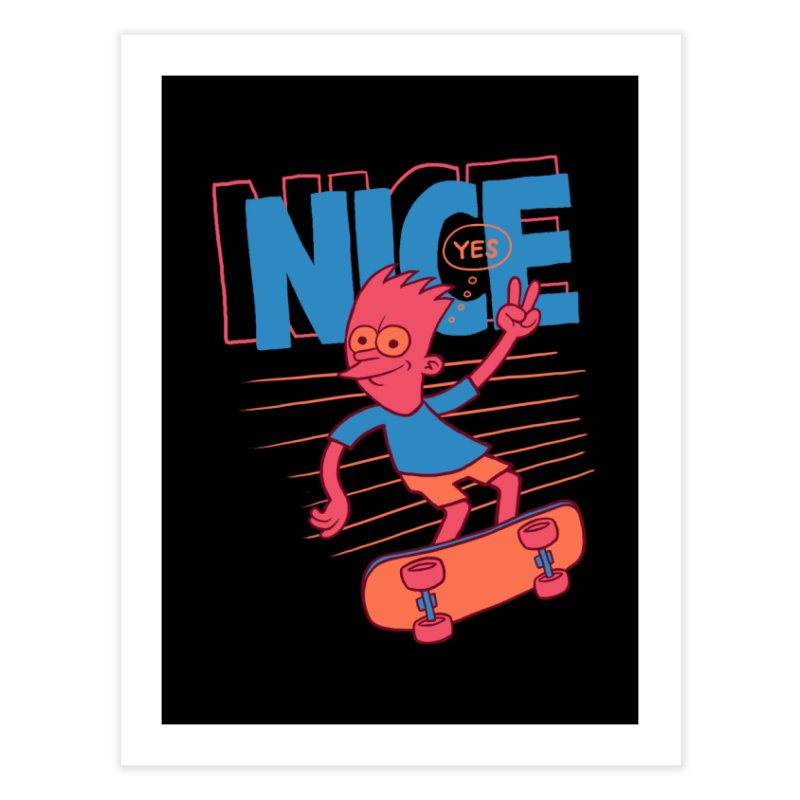 Nice Home Fine Art Print by jublin's Artist Shop