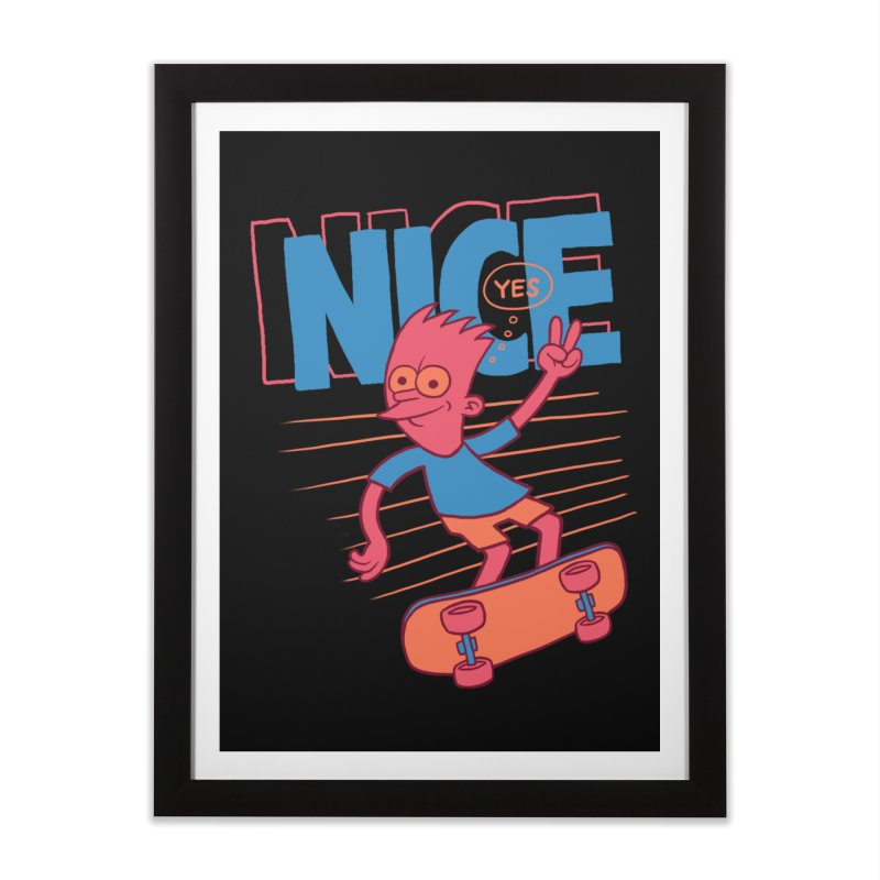 Nice Home Framed Fine Art Print by jublin's Artist Shop