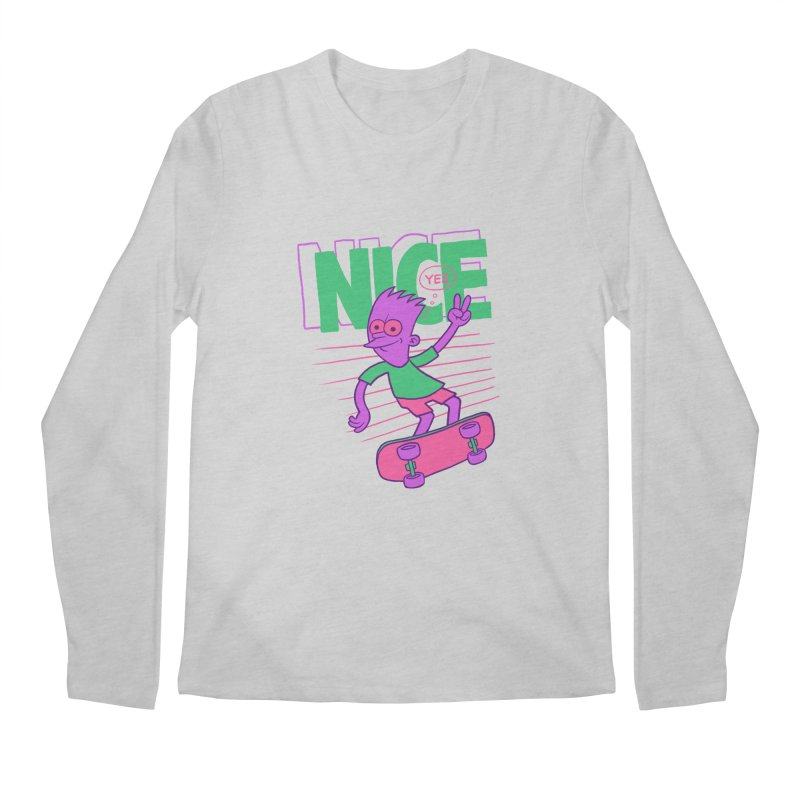 Nice 2000 Men's Longsleeve T-Shirt by jublin's Artist Shop