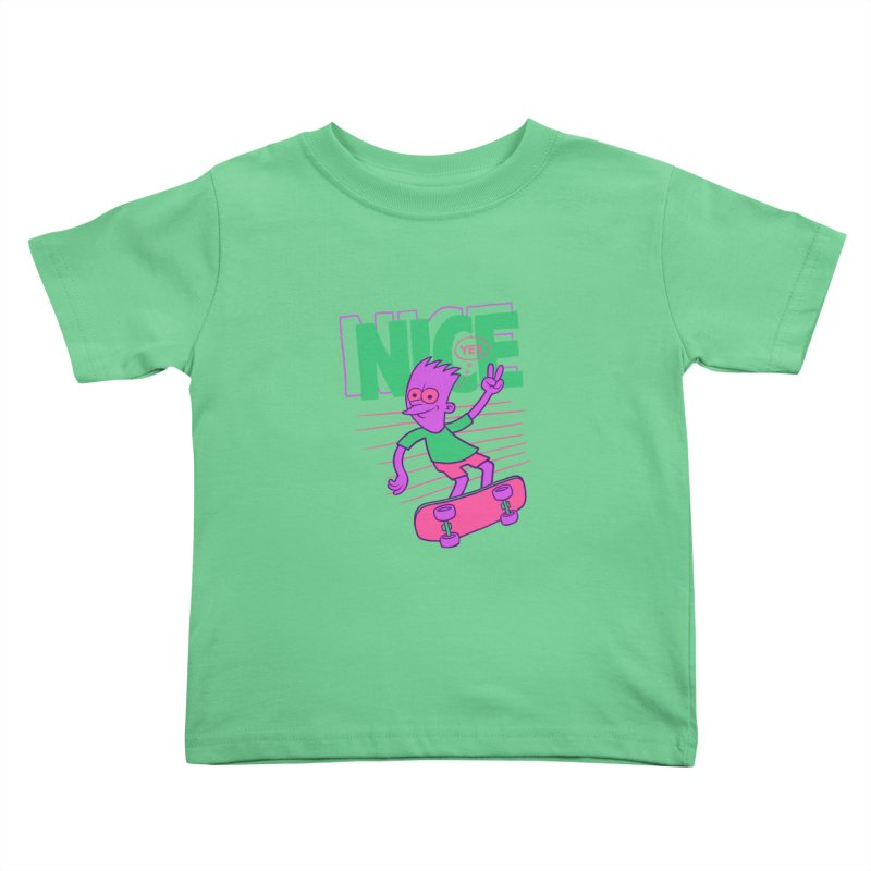 Nice 2000 Kids Toddler T-Shirt by jublin's Artist Shop