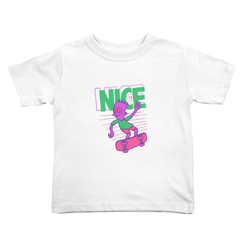 Nice 2000 Kids Toddler T-Shirt by jublin's Artist Shop
