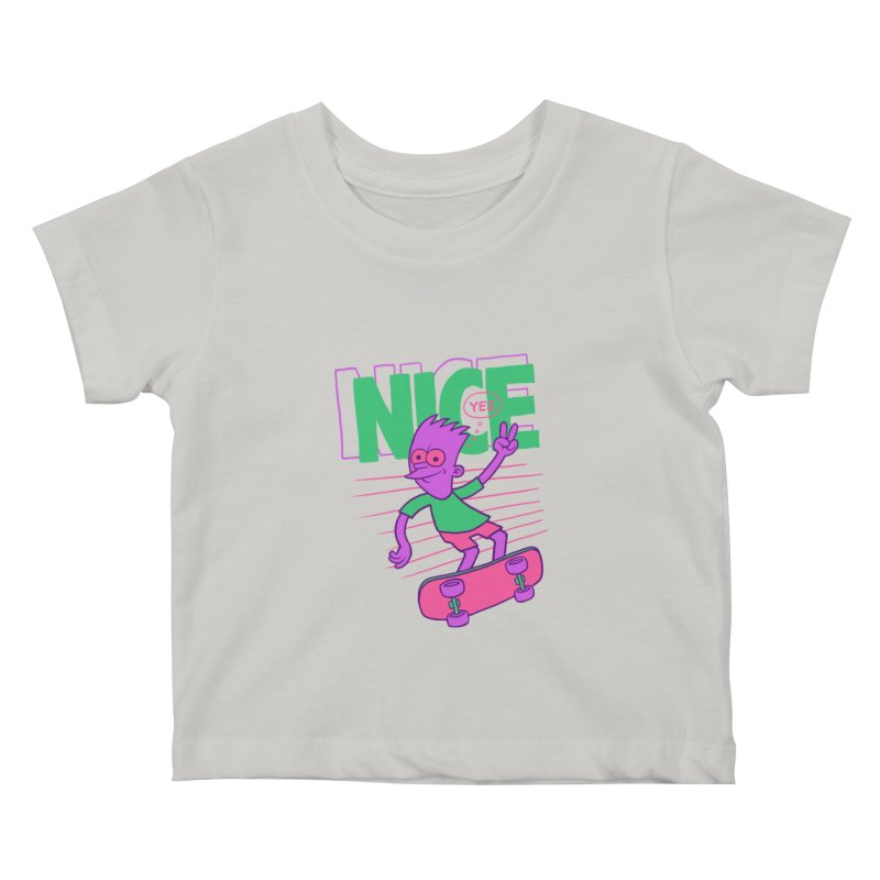 Nice 2000 Kids Baby T-Shirt by jublin's Artist Shop