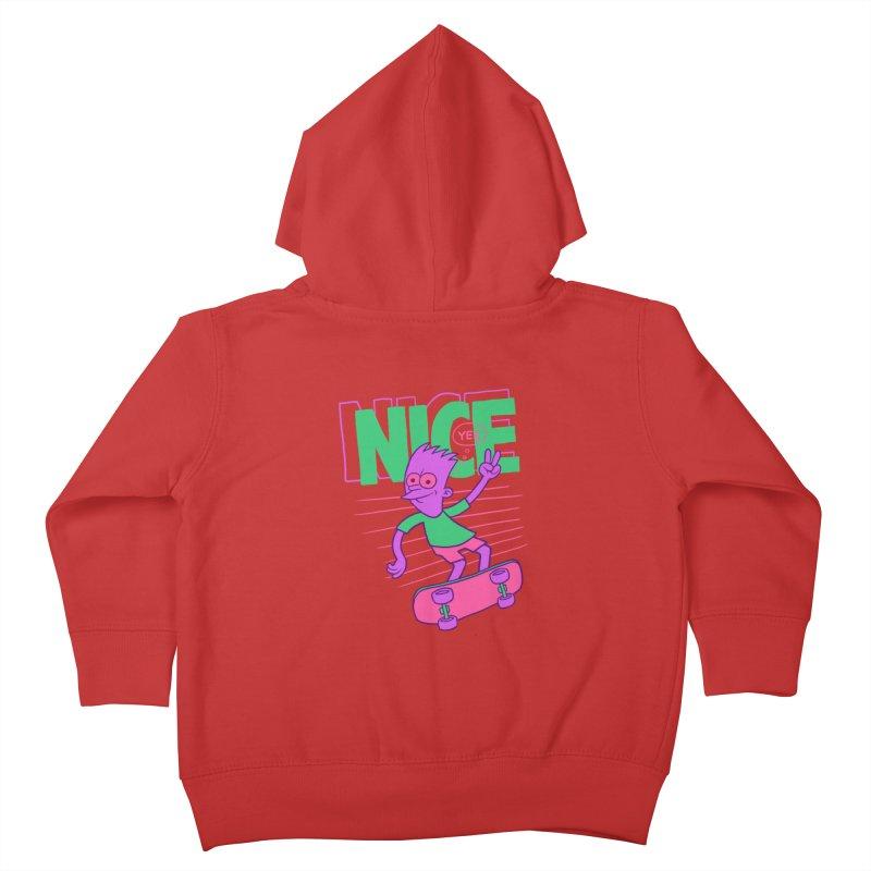 Nice 2000 Kids Toddler Zip-Up Hoody by jublin's Artist Shop