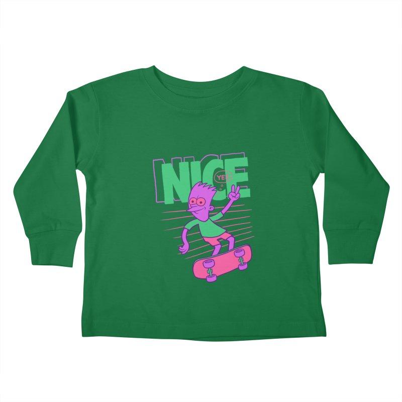Nice 2000 Kids Toddler Longsleeve T-Shirt by jublin's Artist Shop