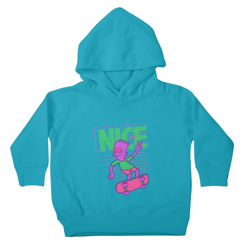 Nice 2000 Kids Toddler Pullover Hoody by jublin's Artist Shop