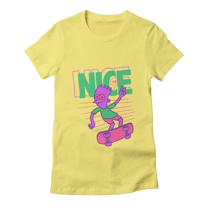 Nice 2000 Women's T-Shirt by jublin's Artist Shop