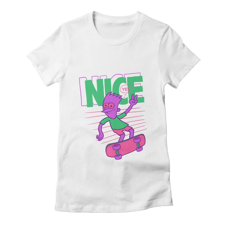 Nice 2000 Women's T-Shirt by jublin's Artist Shop