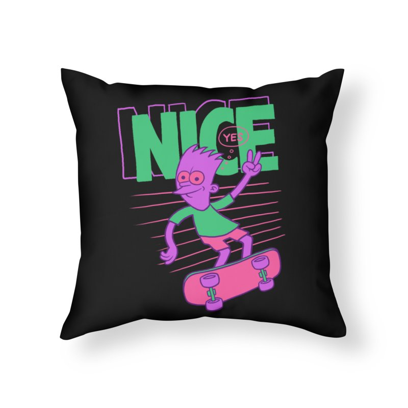 Nice 2000 Home Throw Pillow by jublin's Artist Shop