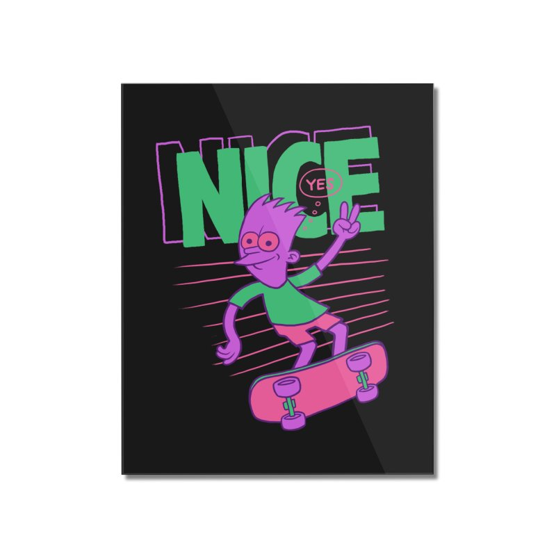 Nice 2000 Home Mounted Acrylic Print by jublin's Artist Shop