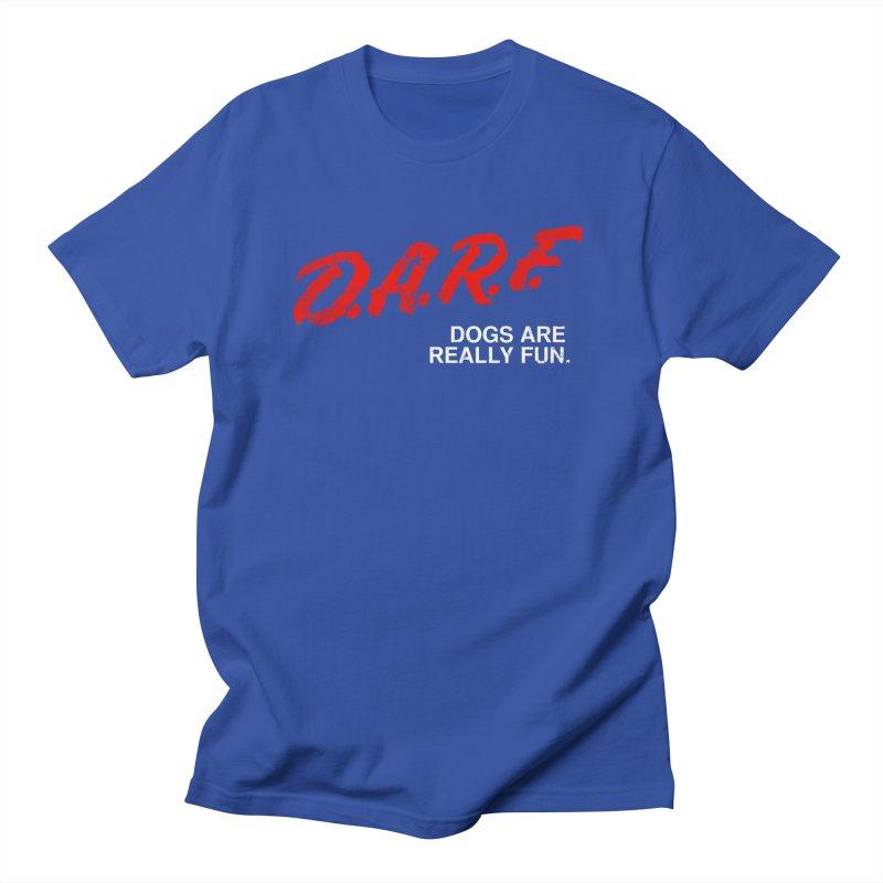D.A.R.F. Men's T-Shirt by jublin's Artist Shop