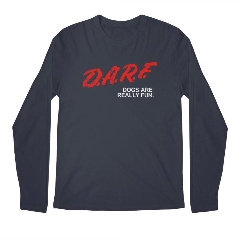 D.A.R.F. Men's Longsleeve T-Shirt by jublin's Artist Shop