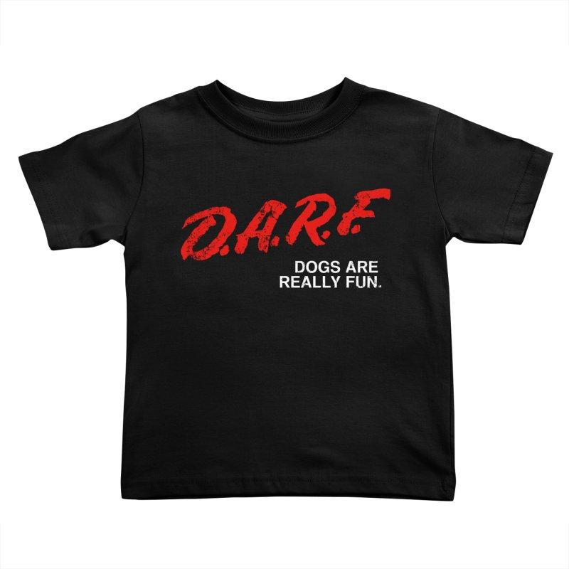 D.A.R.F. Kids Toddler T-Shirt by jublin's Artist Shop
