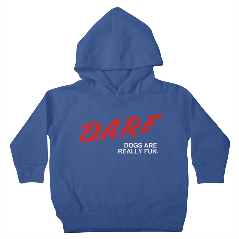 D.A.R.F. Kids Toddler Pullover Hoody by jublin's Artist Shop