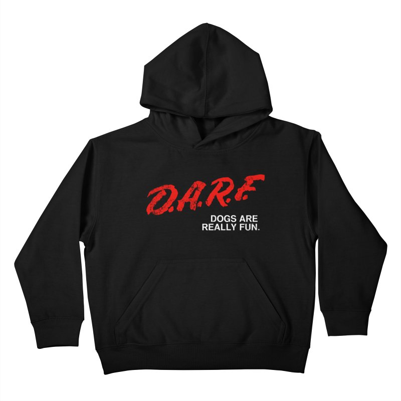 D.A.R.F. Kids Pullover Hoody by jublin's Artist Shop