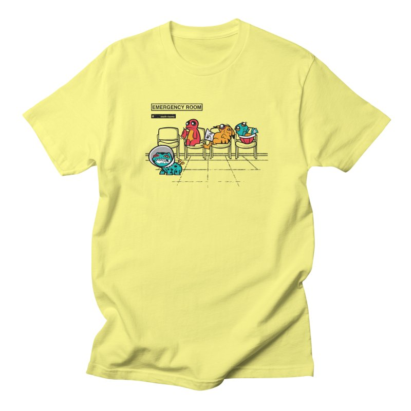 Emergency Room Men's T-Shirt by jublin's Artist Shop
