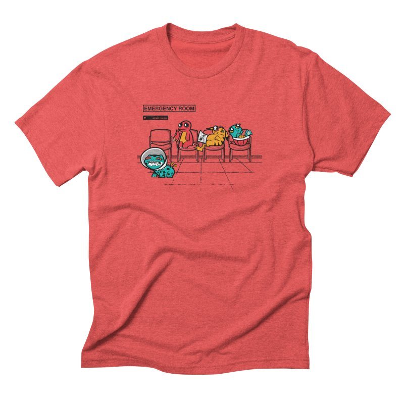 Emergency Room Men's Triblend T-Shirt by jublin's Artist Shop