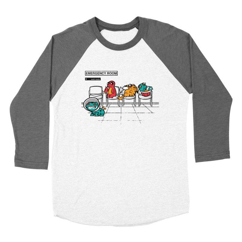 Emergency Room Men's Baseball Triblend T-Shirt by jublin's Artist Shop