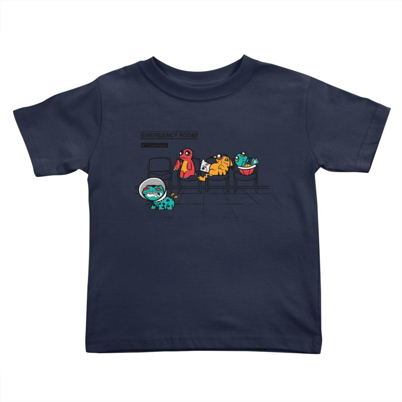 Emergency Room Kids Toddler T-Shirt by jublin's Artist Shop