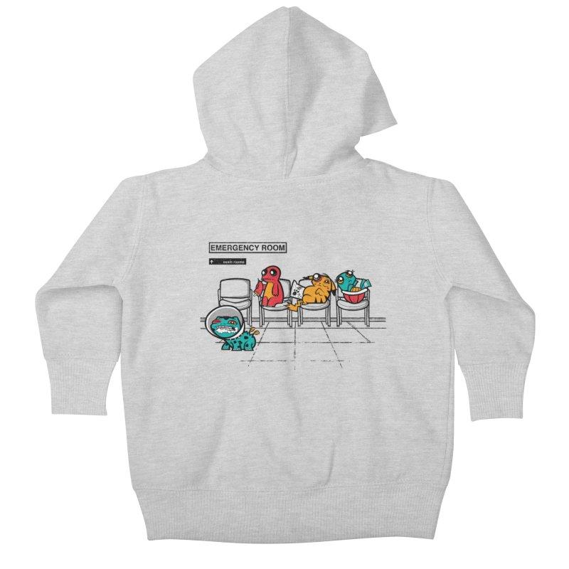 Emergency Room Kids Baby Zip-Up Hoody by jublin's Artist Shop