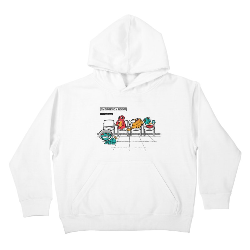 Emergency Room Kids Pullover Hoody by jublin's Artist Shop