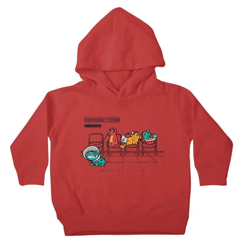 Emergency Room Kids Toddler Pullover Hoody by jublin's Artist Shop