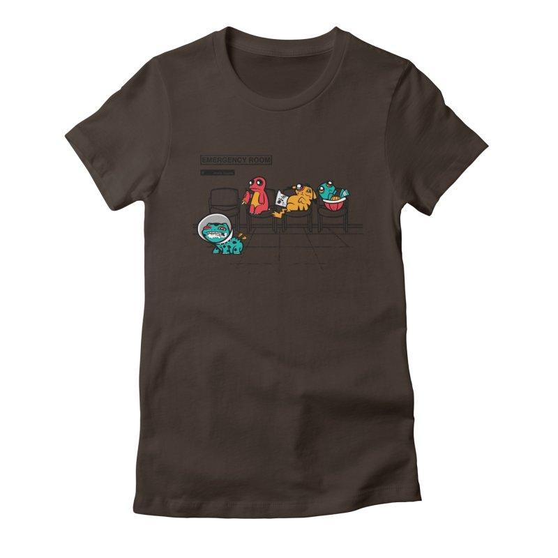 Emergency Room Women's Fitted T-Shirt by jublin's Artist Shop