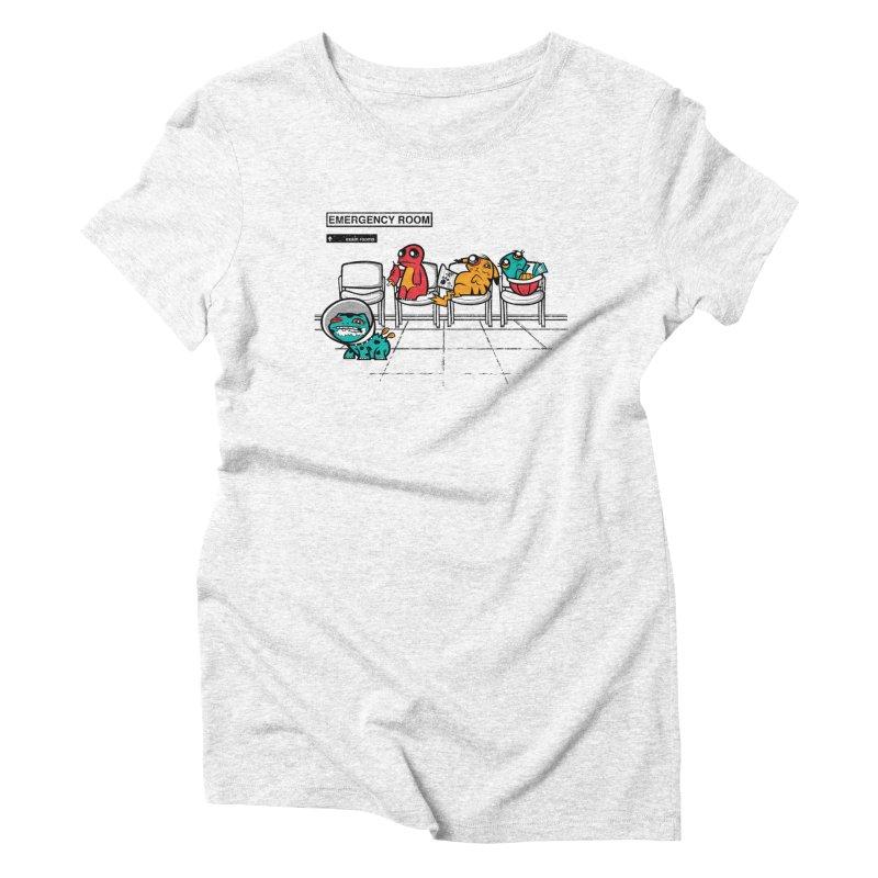 Emergency Room Women's Triblend T-shirt by jublin's Artist Shop