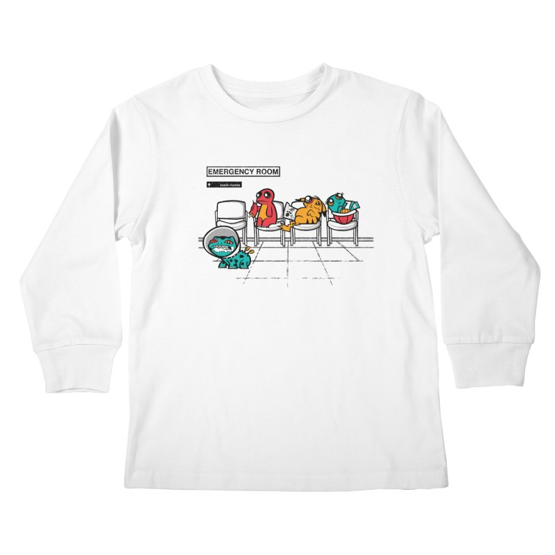 Emergency Room Kids Longsleeve T-Shirt by jublin's Artist Shop
