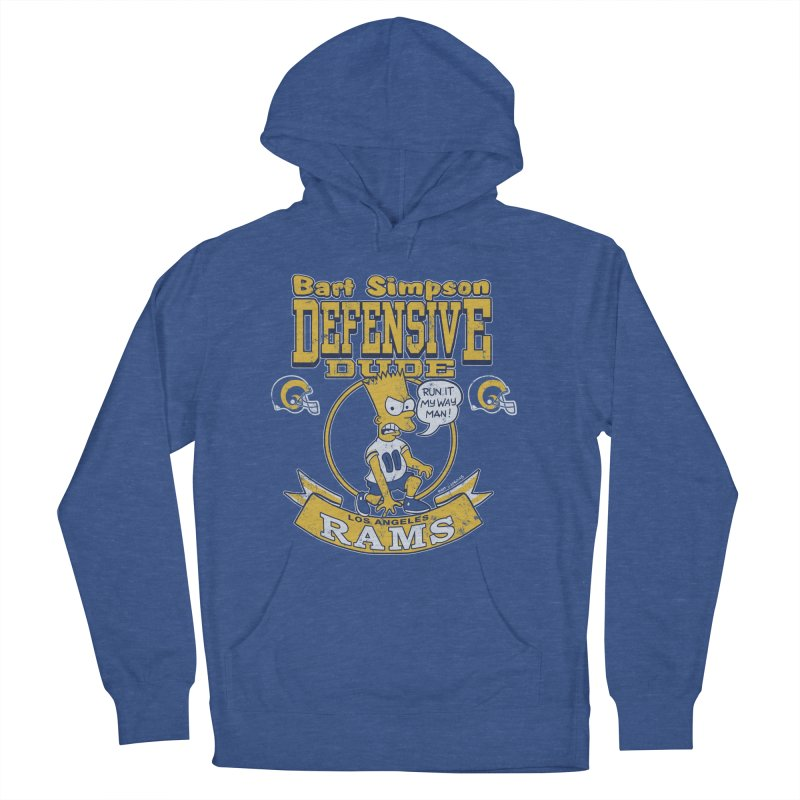 Bart + Rams Men's Pullover Hoody by jublin's Artist Shop