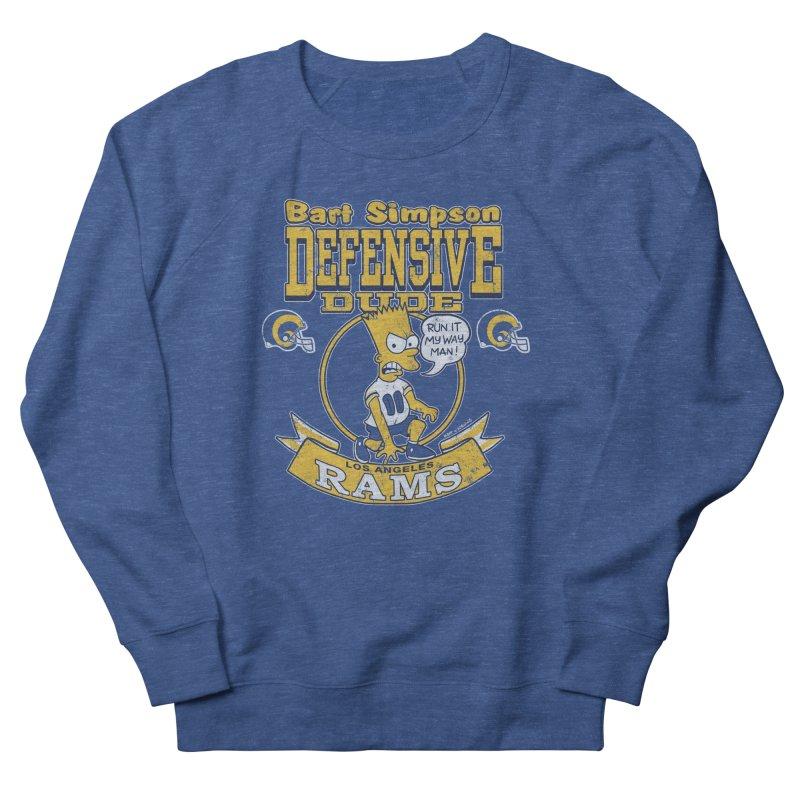 Bart + Rams Men's Sweatshirt by jublin's Artist Shop