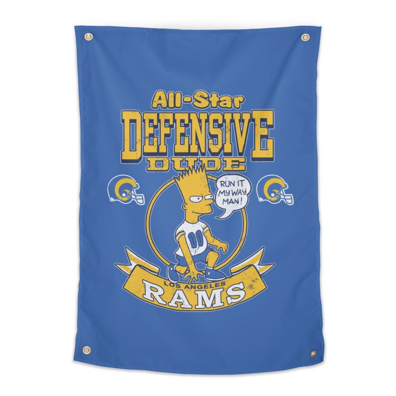LA Defensive Dude Home Tapestry by jublin's Artist Shop