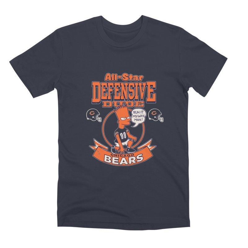 Chicago Defensive Dudes Men's Premium T-Shirt by jublin's Artist Shop