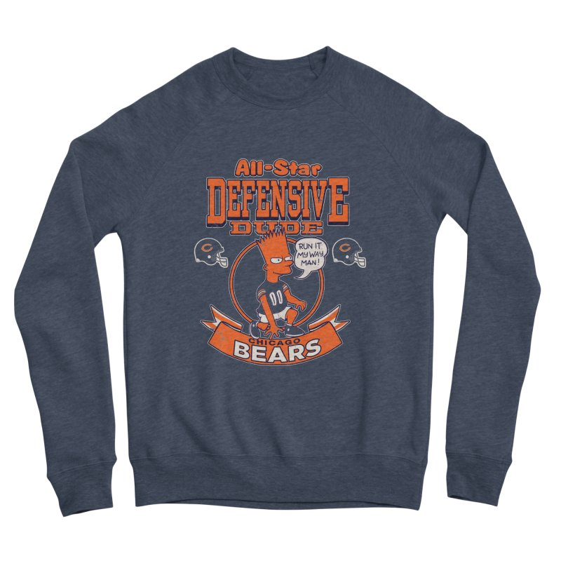 Chicago Defensive Dudes Women's Sponge Fleece Sweatshirt by jublin's Artist Shop