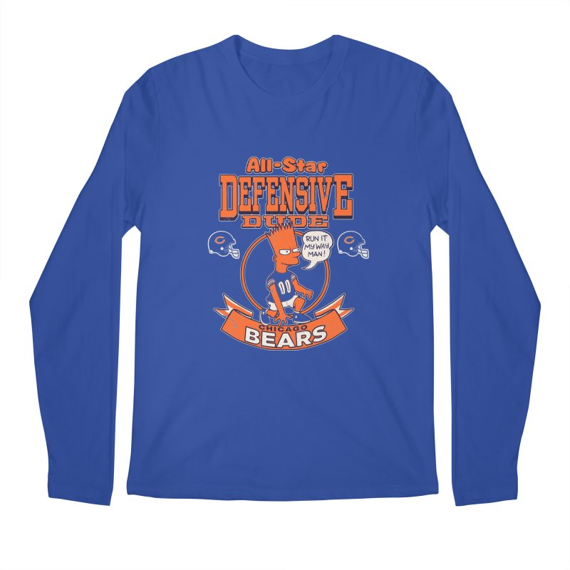 Chicago Defensive Dudes Men's Regular Longsleeve T-Shirt by jublin's Artist Shop
