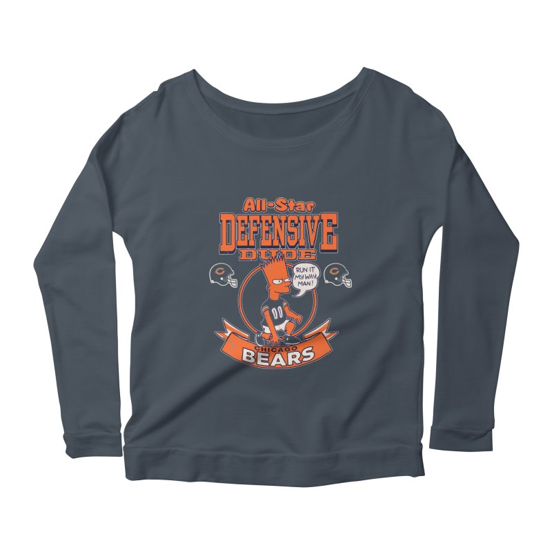 Chicago Defensive Dudes Women's Longsleeve T-Shirt by jublin's Artist Shop