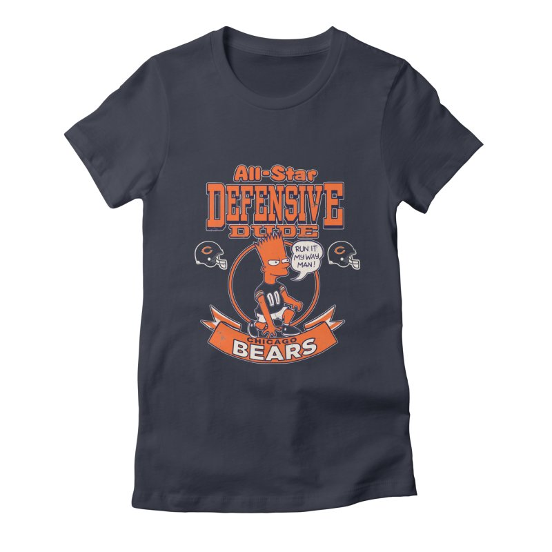 Chicago Defensive Dudes Women's T-Shirt by jublin's Artist Shop